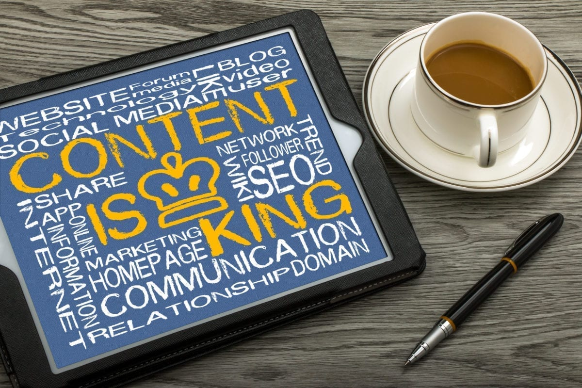 Content Is King. Courting Clients Requires Relationship Based Content.